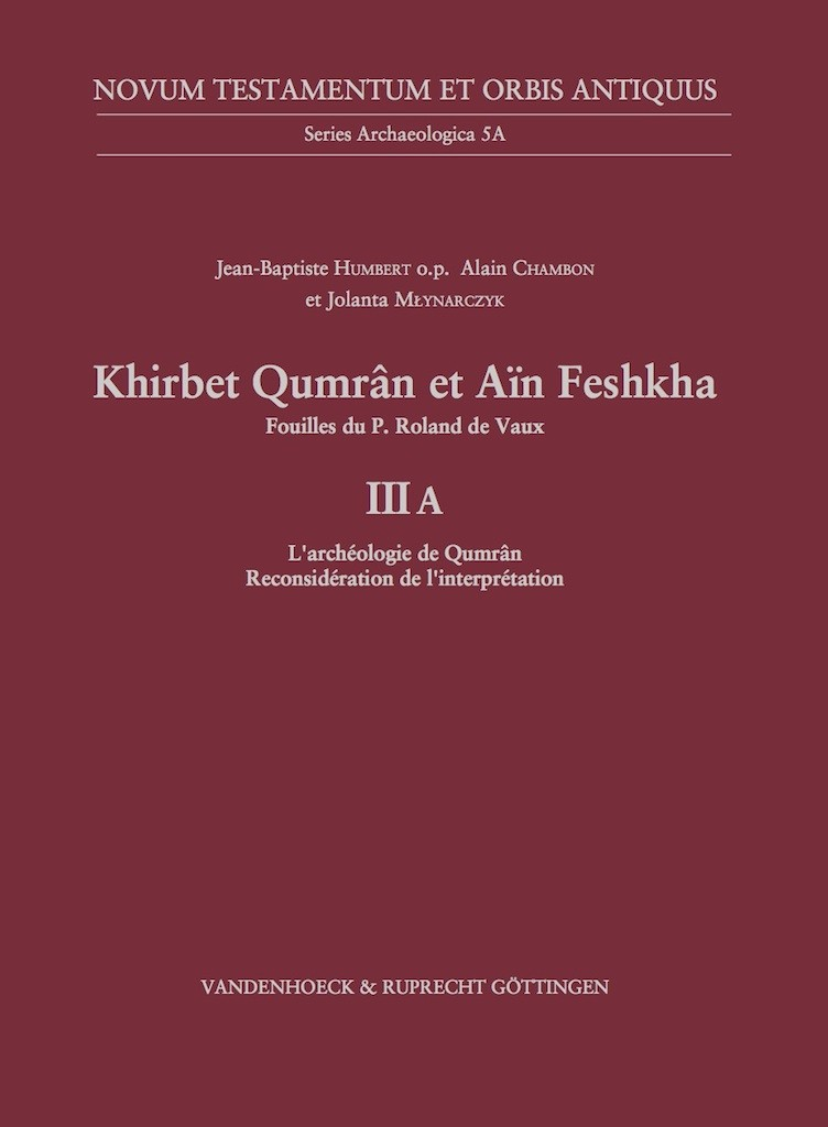 Qumran Volume III A Book Cover